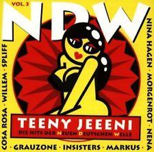 NDW-Teeny Jeeeni 3-Die Hits der Neuen Deutschen Welle Extrabreit, Grauzon.. [CD]