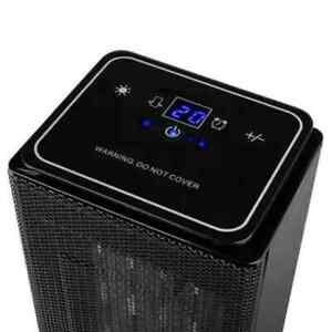 Tristar Calefactor Cerámico Digital 2000 W Portátil Calentador de Camping