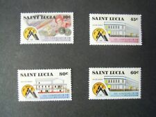 SAINT LUCIA. 50th ANNIVERSARY OF ST LUCIA. CO-OP BANK. SET MNH SG.977/980