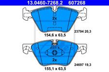 Bremsbelagsatz, Scheibenbremse für Bremsanlage Vorderachse ATE 13.0460-7268.2