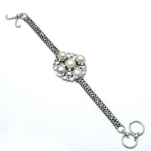 """Winsome River Pearl Handmade Ethnic Style  Jewelry Bracelet 7-8"""" LL"""