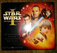 Star Wars Episode 1 The Phantom Menace Collectors Edition VHS COMPLETE with Film