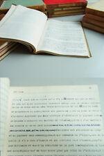 17 typoskripte Paris 1952-68: Réflexions au jour le jour/POLITIQUE/ami d 'Alain