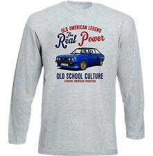 Vintage American Car Ford Escort RS 2000-Nuevo Algodón Camiseta