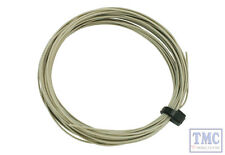 DCW-32GY DCC Concepts N/TT/HO/OO/O/G Scale Grey Stranded Decoder Wire (6m)