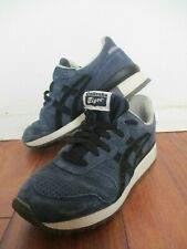 ASICS Onitsuka Tiger Alliance 2014 TH4BL Blue Suede Shoes US 4.5 Euro 36