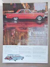 1961 MERCURY COMET VINTAGE 1960 MAGAZINE AD  INV#196