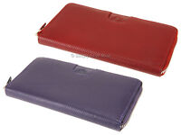 Rowallan Punch Collection Zip Around Womens Ladies Leather Purse Wallet - 7583