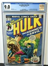 Incredible Hulk 182 1974 CGC Graded 9.0 Wolverine Cameo  1st Appear Hammer Anvil