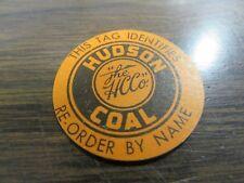 Hudson Coal Company - Lot Of Three - Coal Re-Order Tags - Excellent