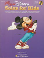 DISNEY SONGS FOR CHILDREN Piano Vocal Sheet Music Book & CD Songbook Shop Soiled