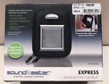 SoundMaster Digital Music System Express Speaker Tote for iPod/MP3/CD&DVD/Gaming