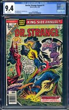 DOCTOR STRANGE ANNUAL #1 - CGC 9.4 - WP - NM - DAVE COCKRUM COVER