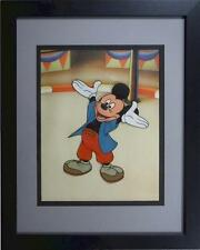 Mickey Mouse Club Art Corner Disney Cel paint Original Production New Fram