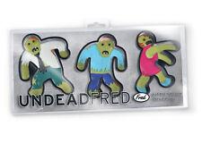 Nuevo-Cortadores De Galleta Galleta En Forma De Novedad Zombie No muerto Fred Fiesta De Halloween
