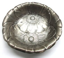 Wallace Sterling Silver Floral Bowl