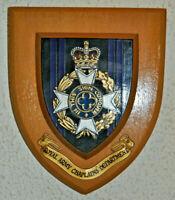Royal Army Chaplains' Department regimental mess wall plaque shield RACD