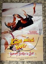 KÜSS MICH DOC! / Young Doctors in Love * A1-Filmposter #B-MOT - Ger 1-Sheet 1983