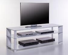 Phonotisch Signo Groß TV-Rack Fernsehtisch Lowboard Hi-Fi Möbel WeißTV-Tisch