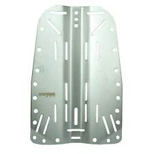 Sopras Sub BackPlate Natural Stainless Steel SS 20 holes tech dive one/ two tank