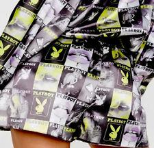 Playboy X Magazine Cover Shorts Uk 0-4-6-8 Worn By Celebrities🔥🌍🔥