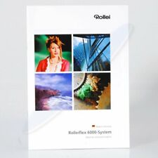 Rollei Rolleiflex 6000-System Lenses and Dedicated System - 23 Pages - Brochure