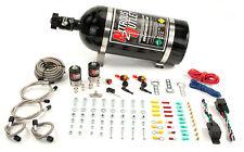 Nitrous Outlet Universal Dual Stage Dual Nozzle Dry Kit (10lb Bottle)