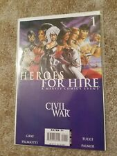 Heroes for Hire - Civil War #1 - Marvel comic book