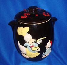 Vintage 1950's Walt Disney Donald Duck & Nephew Cookie Jar