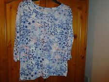Dorothy Perkins Women's Floral Crew Neck Other Tops & Shirts