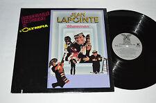 JEAN LAPOINTE Showman A L'Olympia 1985 LP Les Disques Couleur CO 103 Vinyl VG/VG