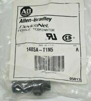 NEW Allen-Bradley 1485A-T1N5 DeviceNet Terminator Mini Female 1 Port