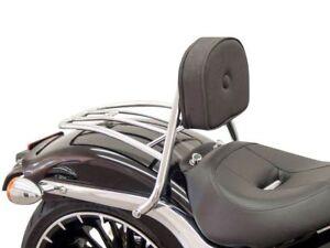 Schienalino con portapacchi cromato Harley Davidson 2018-2020 Fat Boy tipo FLFB