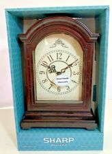 SHARP Grandfather Style Mantel Clock New SPC3042N