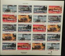Scott #3091-95 Riverboats Mnh Sheet Of 20 Self Adhesive Stamps