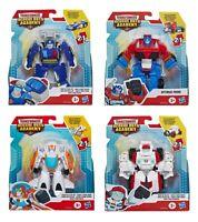 Transformers Rescate Bots Academia 2 IN 1 Robot Figura de Acción Juguete