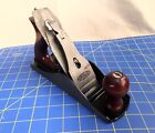VINTAGE DUNLAP 619-3702 Smooth Bottom WOOD PLANE MADE FOR SEARS BY SARGENT