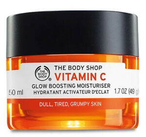The Body Shop Vitamin C Glow Boosting Moisture Cream 50ml New Original FREE POST