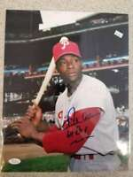 Richie Dick Allen Jsa Cert Autographed 11x14 Photo  Hand Signed Authentic