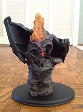 lord of the rings balrog statue sideshow weta flame of udun