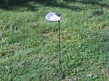 """Vintage 1990's 5 1/2"""" Hummingbird on Clam Shell with 30"""" Pole Awesome"""