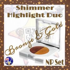 Napoleon Perdis NP Set Shimmer Highlight Duo Bronze Gold