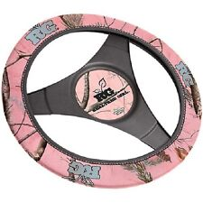 REALTREE GIRL PINK CAMO NEOPRENE STEERING WHEEL COVER - CAMOUFLAGE AUTO, CAR