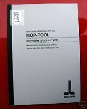Okuma Mop-Tool Instruction Manual: Tool Load Monitoring System (Inv.12288)