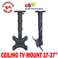 "17"" to 37"" LCD PLASMA LED TV TILT CEILING MOUNT BRACKET 19 20 21 22 24 27 32 35"