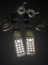 Panasonic Kx-Tga652B Digital Cordless Replacement Handsets Lot Of 2 W/Batteries