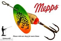 spinner Mepps XD HOT TIGER  MADE IN USA  Variety sizes