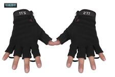 New Outdoor motorcycle Bicycle Racing Sports Gloves Fingerless Unisex Anti-slip