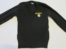 NFL Black Sweater with Pittsburgh Steelers Logo Youth Kids Boy S Small 6-8