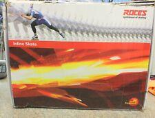 Roces 400721 Men's Model Lab Fitness Inline Skate, Us 8, Black/Silver